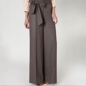 Anthro Elevenses high waist wide leg trouser
